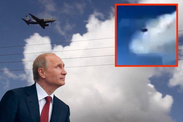 «Спешат поздравить Путина»: Возле Шереметьево пришельцы едва не сбили самолёт