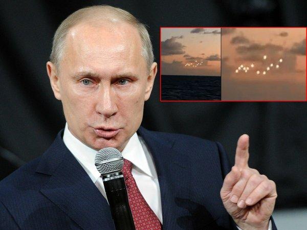 Инопланетная армия Путина: Рой российских НЛО замечен у побережья США