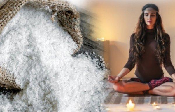 Соль принесёт гармонию— Очистить дом от«злой» энергии можно самостоятельно