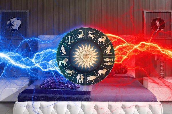 В спальне жара: Астрологи назвали самую страстную пару из Зодиаков
