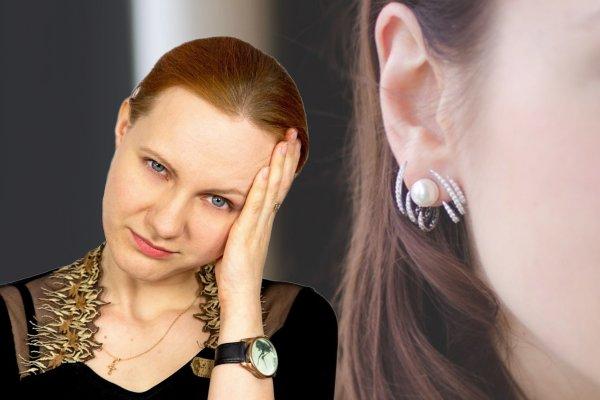 Секрет женских недомоганий — Голова болит из-за «неправильных» серёжек
