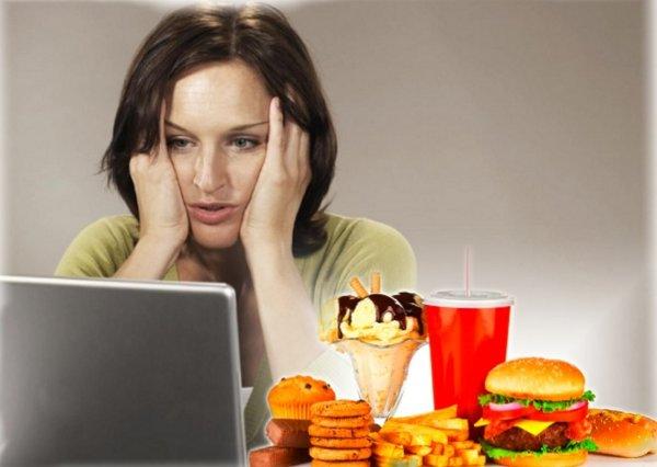 Жирная еда тормозит мыслительные процессы