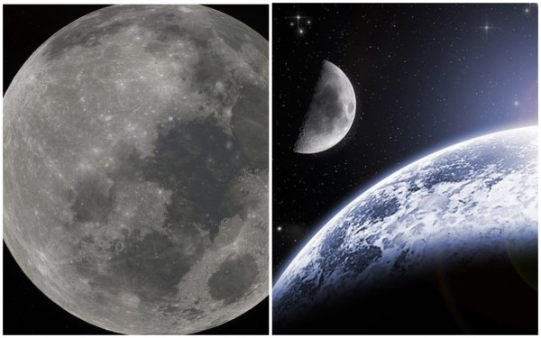 Роскосмос выдвинул новую гипотезу о происхождении Луны