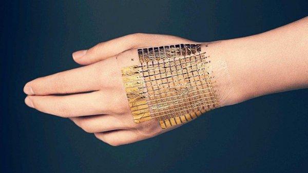 В США создана электронная кожа, работающая на человеческом поте