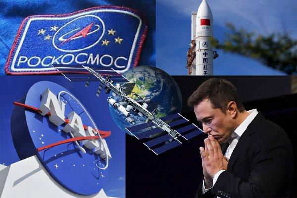 Из-за Китая и США Россия рискует вступить в новую космическую гонку