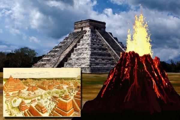 Учёные: прообразами пирамид майя оказались вулканы