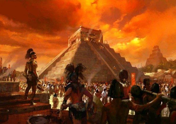 На границе Мексики и Гватемалы нашли древний церемониальный храм майя