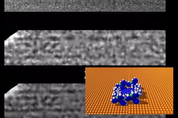 Исследователи впервые сняли на камеру движение молекул