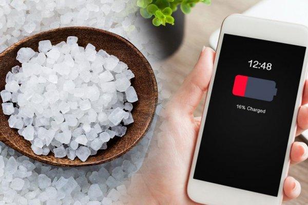 Учёные из России и США придумали аккумулятор с поваренной солью