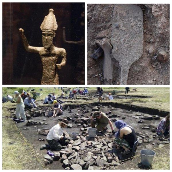 В Израиле археологи обнаружили бронзовый «скипетр бога»
